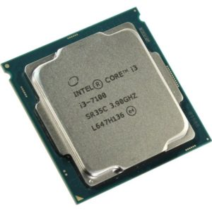 CPU Intel Core i3-7100, LGA1151, 3.9GHz, 2xCores, 8GT, s, 3MB Cache, Tray, Caby Lake(*id 12)