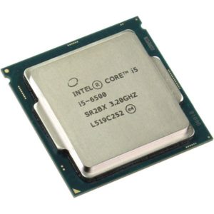 CPU Intel Core i5-6500, LGA1151, 3.2-3.6GHz, 4xCores, 8GT, s, 6MB Cache, Tray(*id 12)