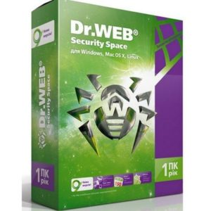 Anti-Virus Dr.WEB Security Space 1пк 3года()