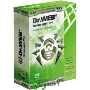 Anti-Virus Dr.Web Антивирус Pro 1год 2пк()