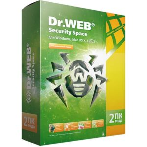 Anti-Virus Dr.Web Space Security 2года 2пк()