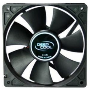 Cooler for PSU, CASE DEEPCOOL XFAN120 BLACK 120x120x25 mm