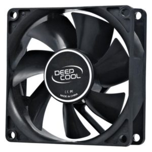 Cooler for PSU, CASE DEEPCOOL XFAN80 BLACK 80x80x25 mm