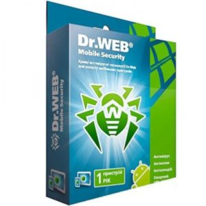 Dr.WEB mobile Security для Android на 12 мес