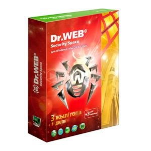 DrWEB Security Space 1пк 3года