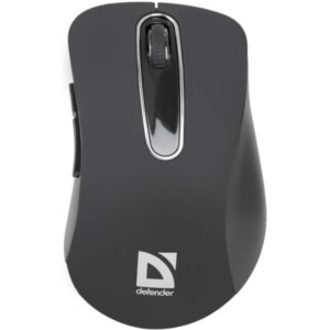 Mouse Wireless Defender Accura MM-935 Gray, optical, 4 buttons,800-1600 dpi, USB(*id 12)