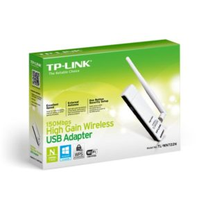 Wireless Adapter TP-Link TL-WN722N 150Mbps High Gain Wireless USB Adapter