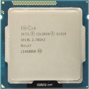 CPU LGA1155 Intel Celeron Dual Core G1620 2.7Ghz, 2MB Cache, 1333Mhz Bus, Tray (12 мес)