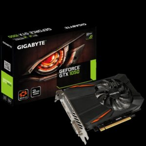 GEFORCE GTX1050 2GB GDDR5 128bit 1493Mhz PCI-E DVI DP HDMI GIGABYTE N1050D5-2GD (12 мес)