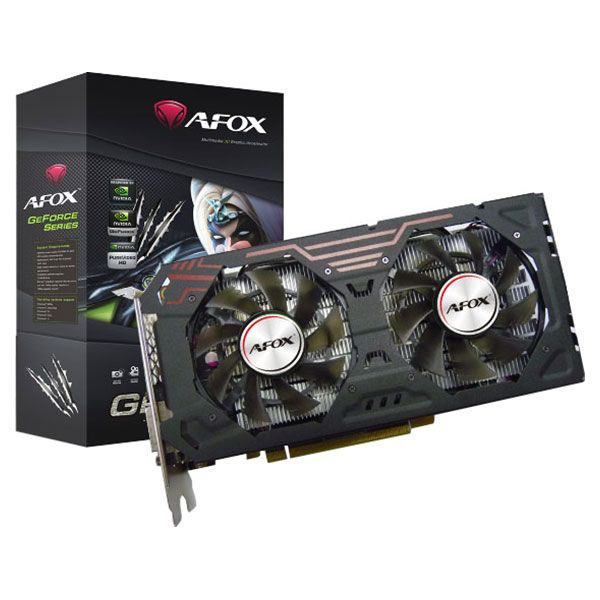 GEFORCE GTX1060 Gaming Edition DUAL 3GB GDDR5 192bit PCI-E DVI 3xDP HDMI AFOX (12 мес)