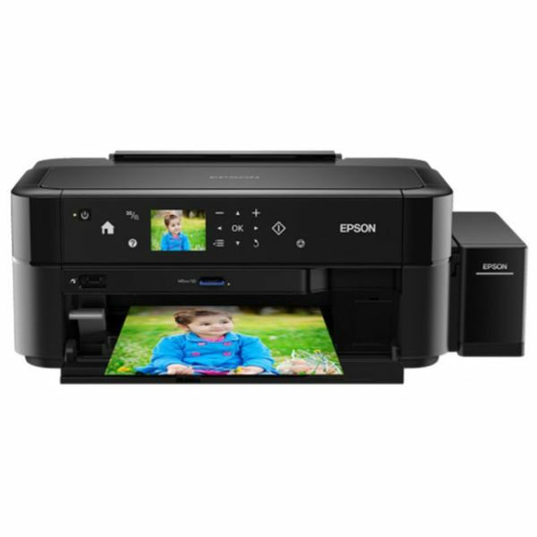 Printer Epson L810 (A4, 37, 38ppm Black, Color, 12sec, photo, 64-300g, m2, 5760x1440dpi, CD-printing