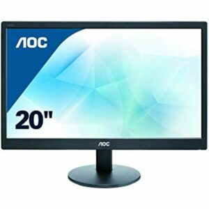"AOC 19.5"" E2070SWN LED 5ms,20000000 - 1,200 кд, м2,1600x900,90, 60 VGA (12 мес)"