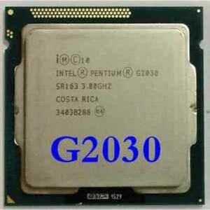 CPU LGA1155 Intel Pentium Dual Core G2030 (Ivy Bridge), 3.0GHz, 3MB Cache, 1333MHz FSB, TRAY (3 мес)