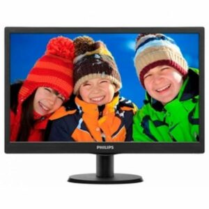 "PHILIPS 18,5"" 193V5LSB2,LED,BLACK 1366 x 768 16 - 9 HD; 10000000 - 1 ; 200cd, m2; 5ms,VGA (12 мес)"