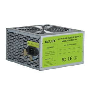 Power Unit DELUX DLP-21D 250W CE,20+4PIN, 2*big 4PIN, 2*SATA, P4, 1*12CM fan (12 мес)