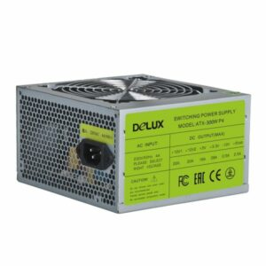 Power Unit DELUX DLP-30D 420W CE, 20+4PIN, 3*big 4PIN, 1*small 4PIN, 2*SATA, P4, 1*12CM fan (12 мес)